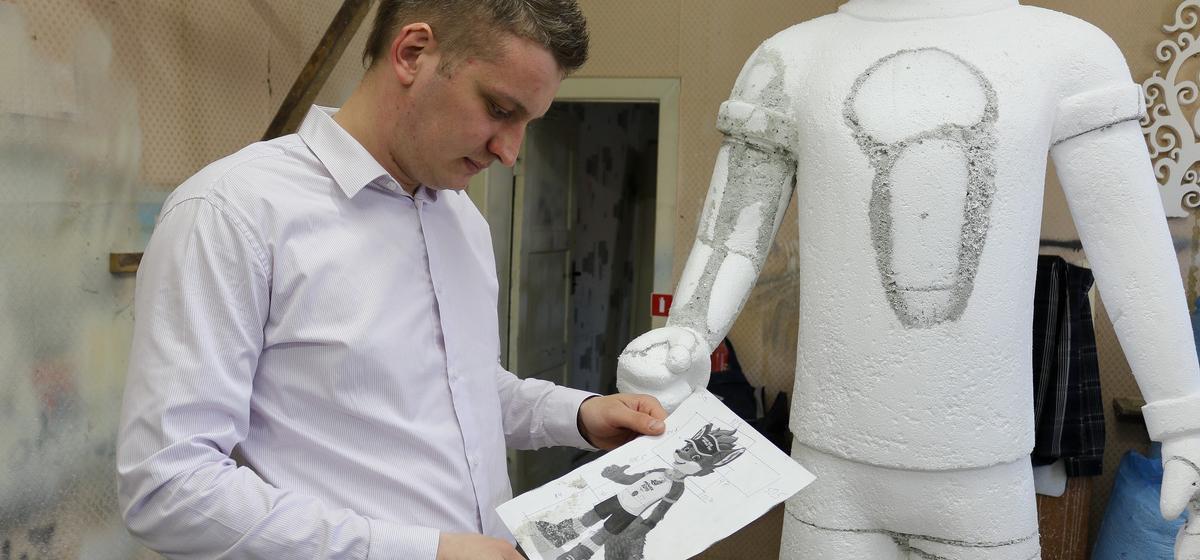 Мой бизнес. Как два парня из Барановичей зарабатывают на резке пенопласта. «Мы изготавливали декорации для «Евровидения»
