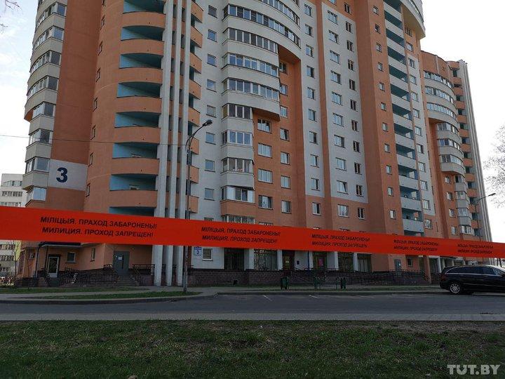 В Минске эвакуировали жильцов из-за трещины в новом многоэтажном доме