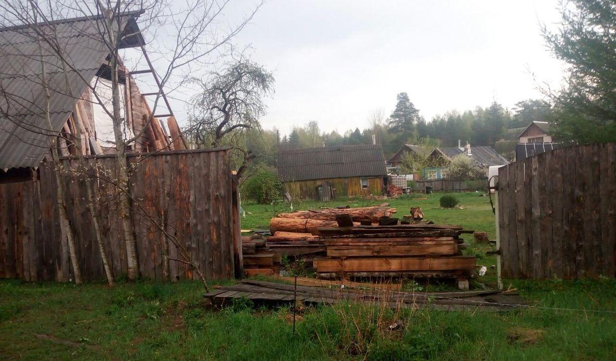 Последствия стихии в деревне Тартаки 28 апреля 2019 года.