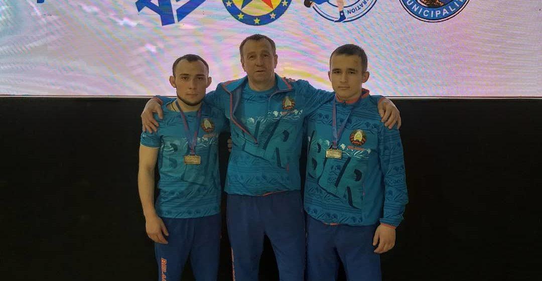 Барановичские юниоры привезли медали чемпионата Европы по самбо