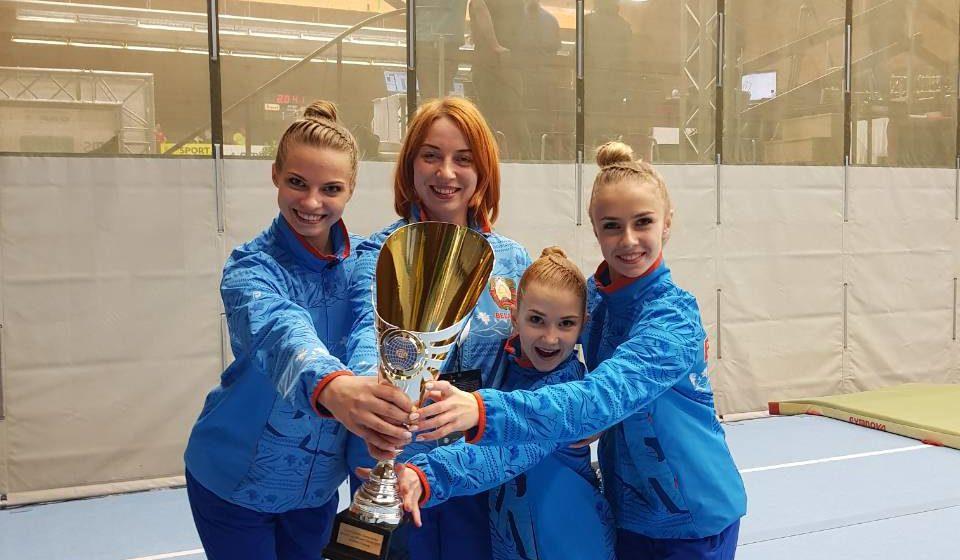 Кубок мира выиграли представительницы барановичской акробатики