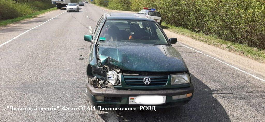 ДТП под Барановичами. Жительница Ганцевичей на легковом авто «догнала» барановичский бус