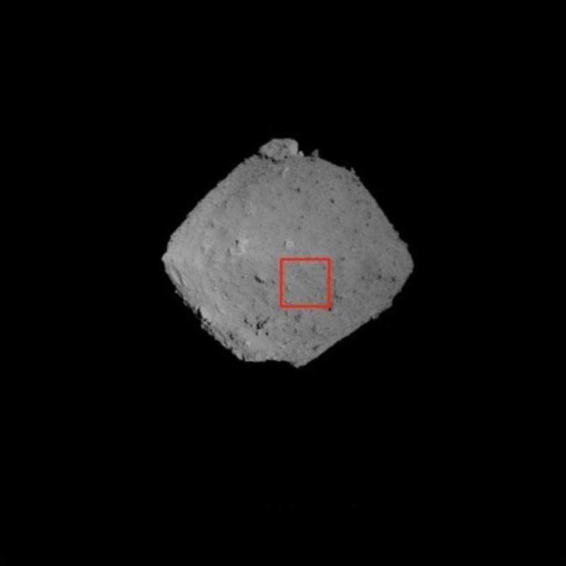 Астероид Рюгу в августе 2018 года. Фото: JAXA