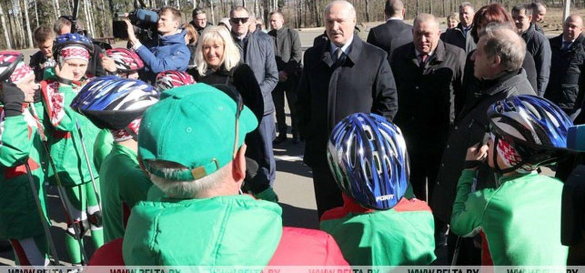 Под Барановичами открылся обновленный спортивно-биатлонный комплекс: появилось стрельбище, а лыжероллерную трассу продлили до 2 км