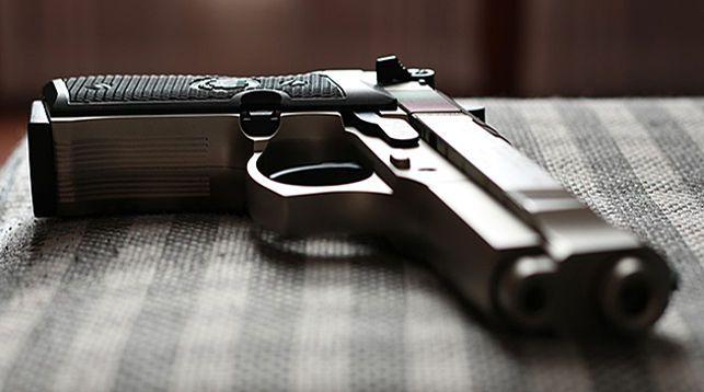 Житель Марьиной Горки в магазине угрожал бывшей жене пистолетом