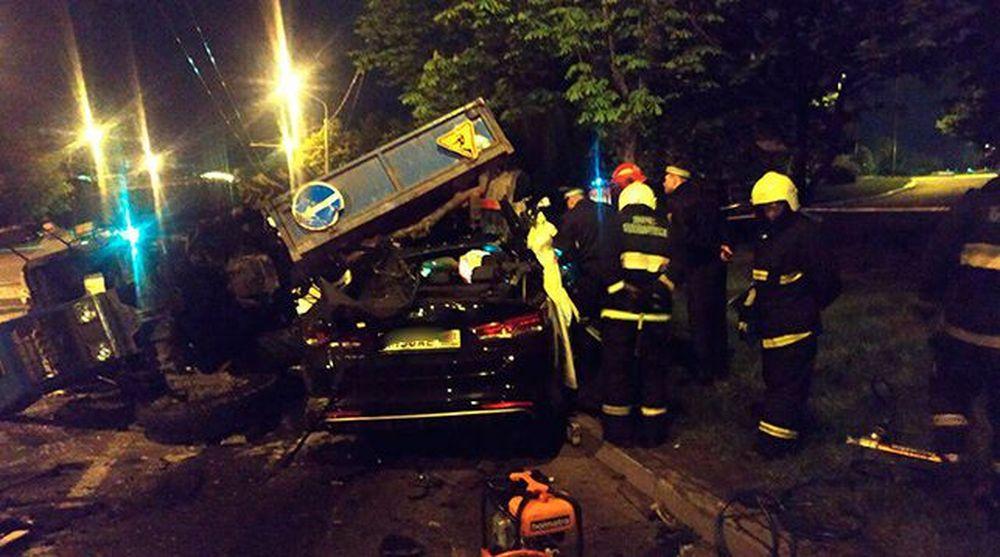 Пьяный водитель устроил массовое ДТП в Минске, погиб пассажир