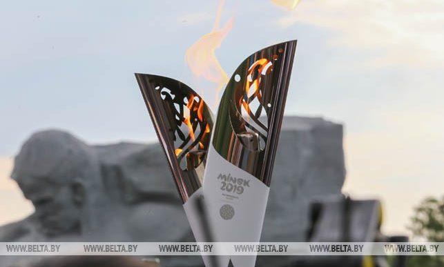 Кто и где будет нести факел Европейских игр «Пламя мира» по Барановичам