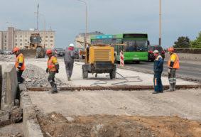 Съезд с моста на улице Ленина в Барановичах перекроют. Как будет двигаться транспорт?