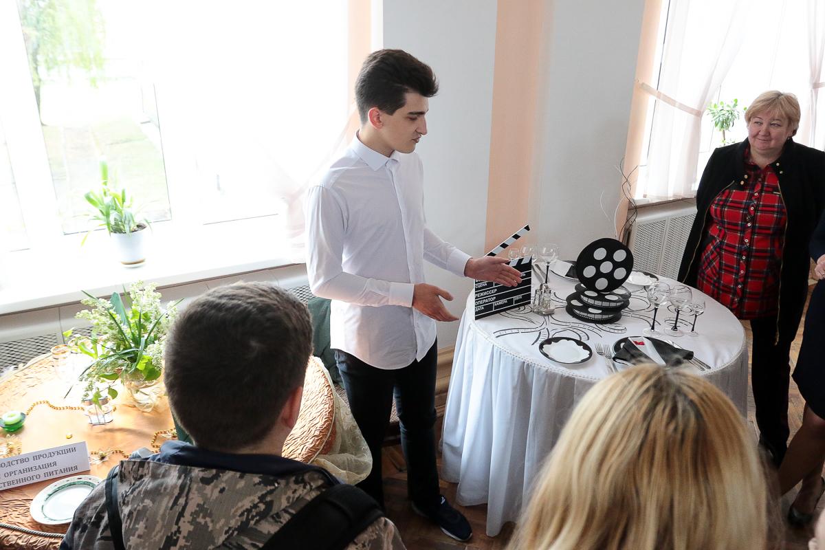Мастер-класс по сервировке стола. Фото: Александр ЧЕРНЫЙ