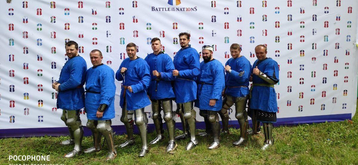 Рыцари из Барановичей стали призерами чемпионата мира по историческому средневековому бою