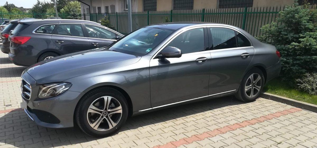 Белорус угнал в Германии новенький Mercedes Benz E200. Задержали его у польско-белорусской границы