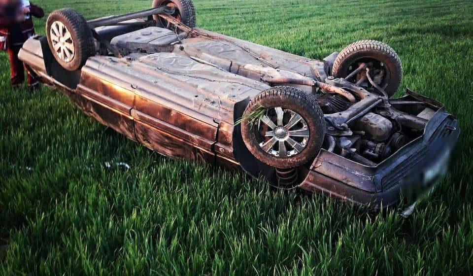Под Барановичами перевернулась машина. Ни водителя, ни пассажиров не  нашли (фото)