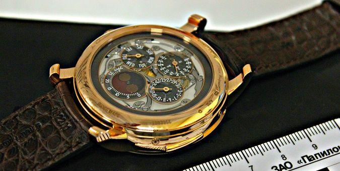 В российском аэропорту у белоруски изъяли часы стоимостью более 236 тысяч долларов