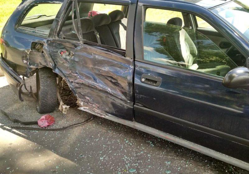 В Речице столкнулись мотоцикл и автомобиль, мотоциклист погиб