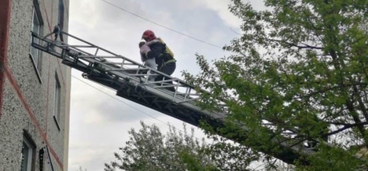 В Березе спасли на пожаре 10-летнюю девочку. Мама в это время была в магазине