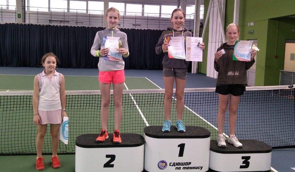 Барановичская школьница стала призером Белорусского теннисного тура