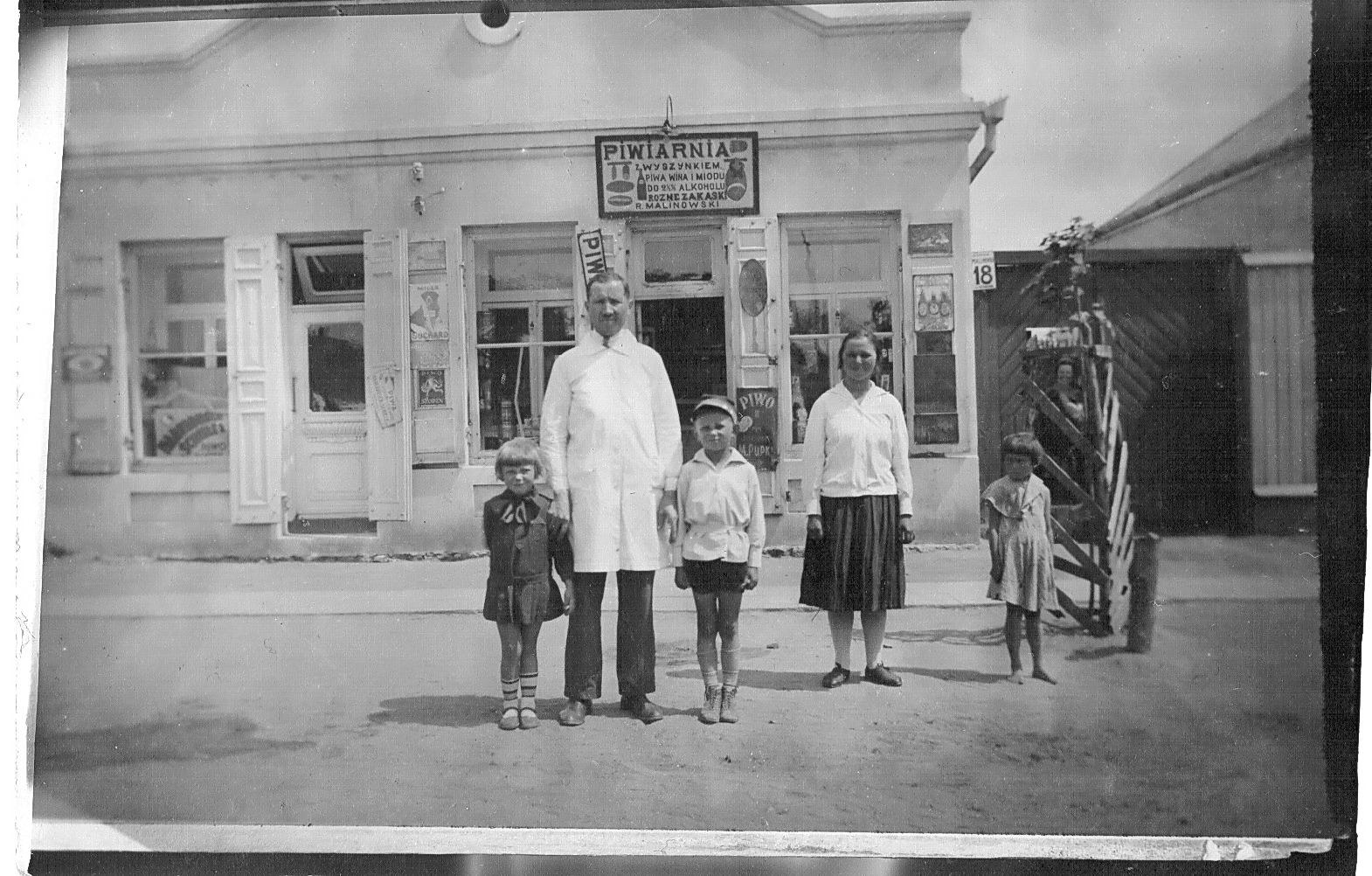 Роман Малиновский с детьми. Фото: архив Дмитрия СИТКЕВИЧА (США)