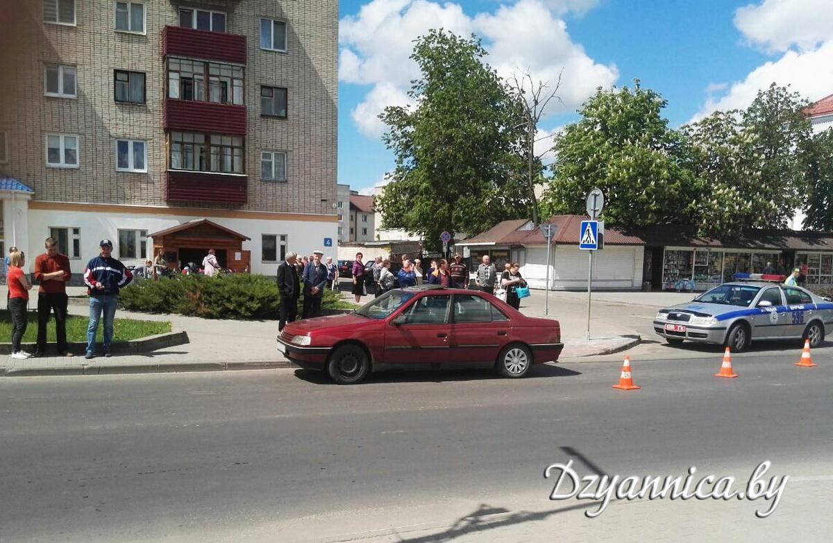 Место ДТП. Фото: dzyannica.by