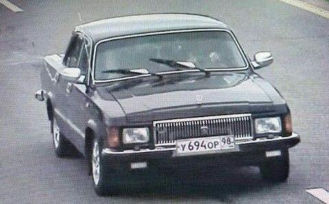 Машина, на которой, предположительно, похитили милиционера. Фото: сайт nn.by