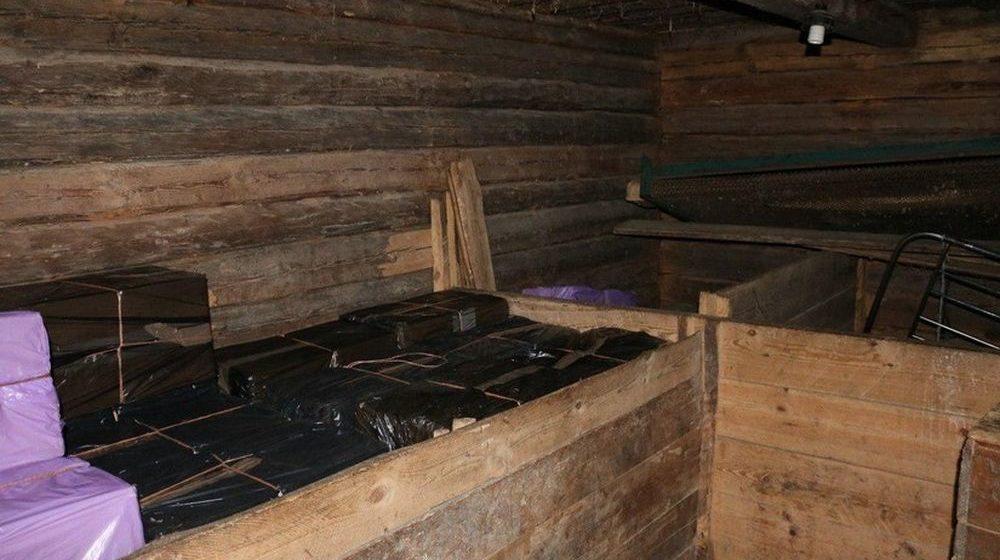 Около границы с Литвой белорусские пограничники обнаружили многочисленные схроны  контрабандистов (фото)