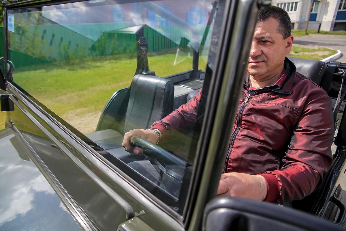 Максимальная скорость, которую может развить Willys Барика, – 110 км/ч. Фото: Евгений ТИХАНОВИЧ