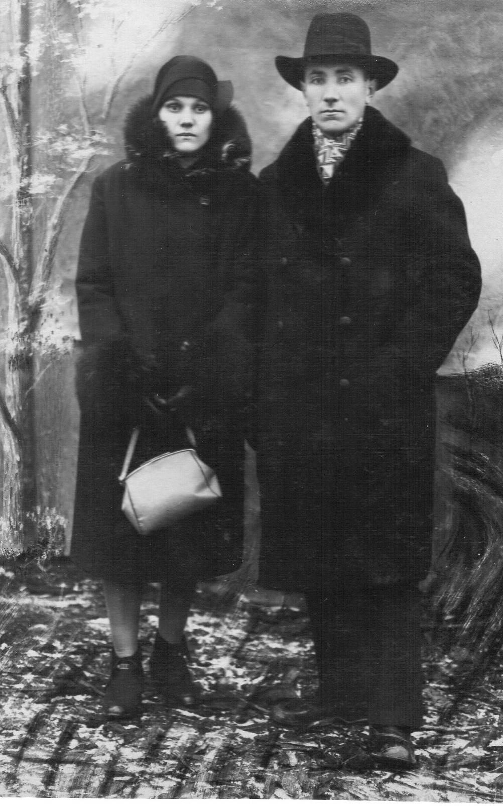Роман Малиновский с женой Софией. Фото: архив Дмитрия СИТКЕВИЧА (США)