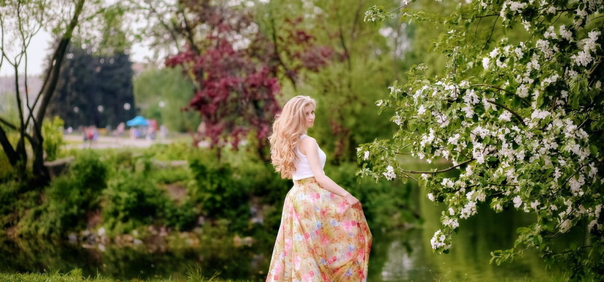 «Мисс Весна». Фотоконкурс для читателей Intex-press