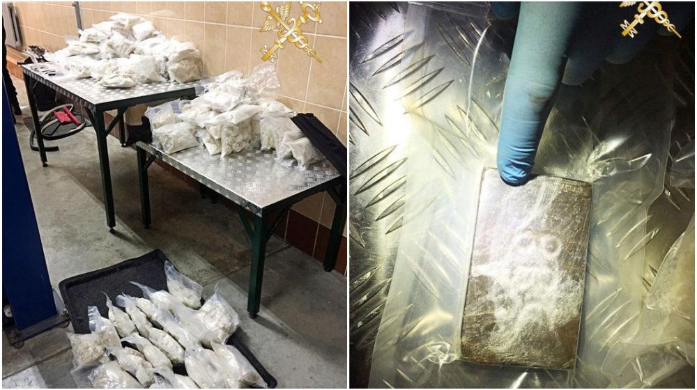 Более 100 кг экстази хотела провезти через границу россиянка. Это самая крупная изъятая партия наркотиков за 25 лет