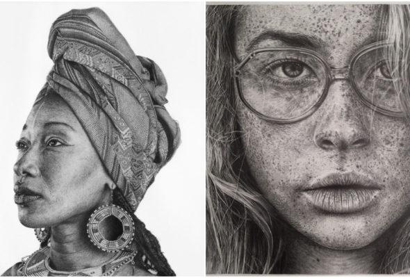 Художница создает невероятно реалистичные рисунки, которые можно принять за фотографии