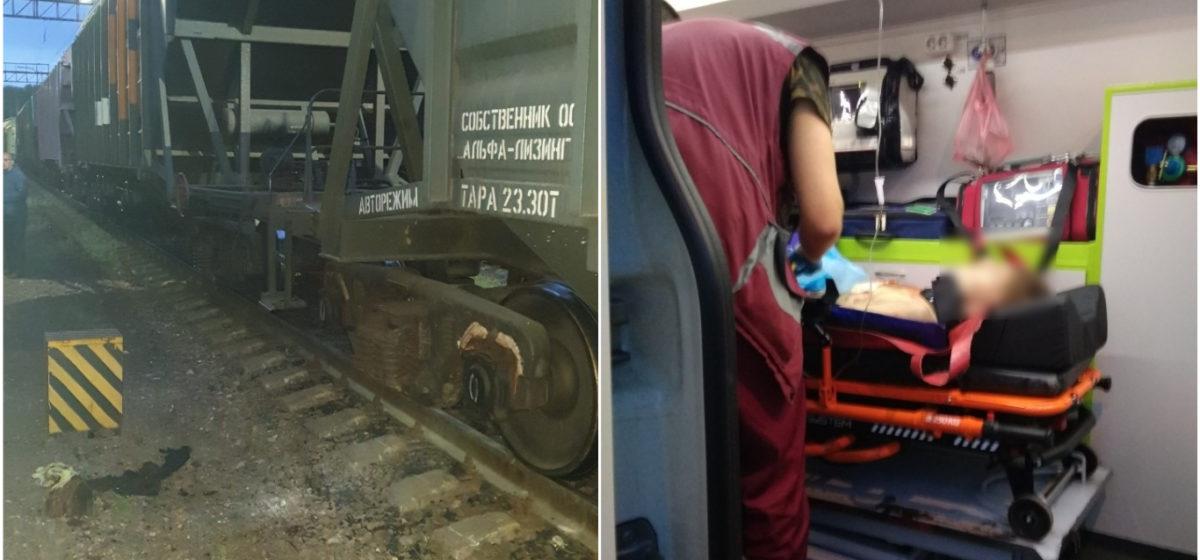 В Минске подросток взобрался на крышу вагона и попал под электрический разряд