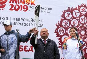 «Пламя мира» II Европейских игр в Барановичах. Онлайн-трансляция