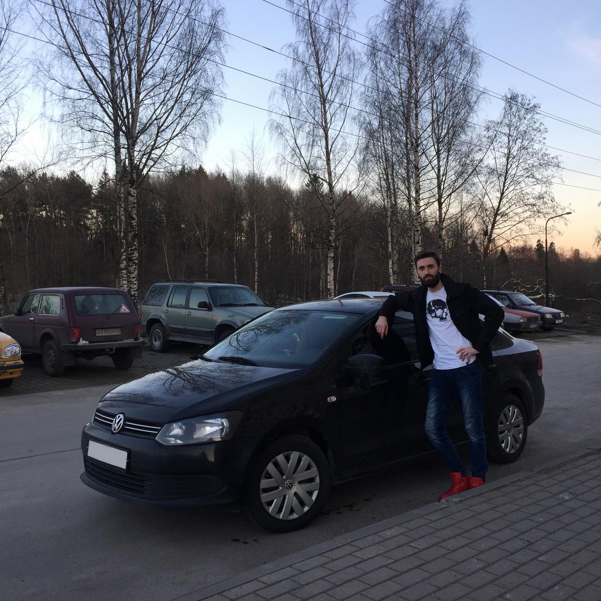 Игорь Никулин – владелец автомобиля Volkswagen Polo. Фото: личный архив