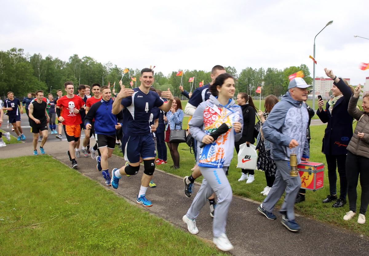 Участники забега
