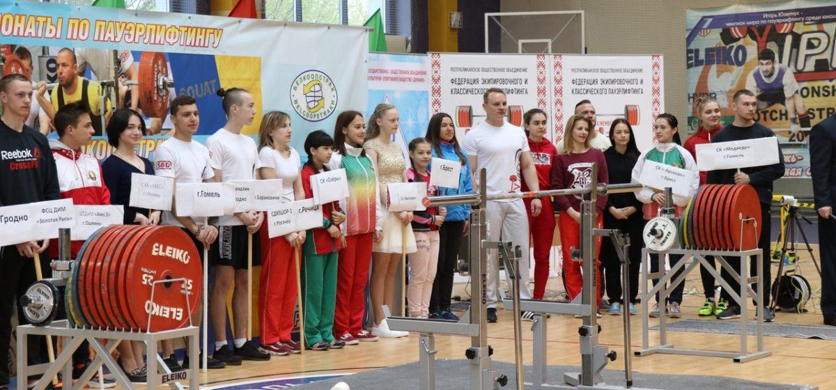 Барановичские силачи показали себя на двух турнирах