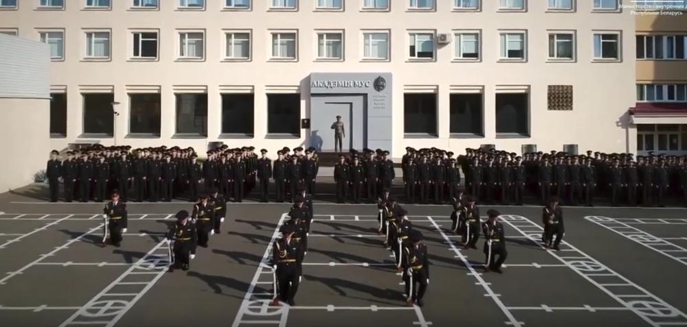 МВД Беларуси сняло имиджевый ролик, в котором звучит белорусскоязычная песня о милиции