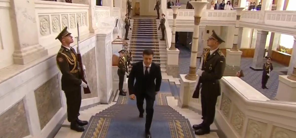 Инаугурация Владимира Зеленского в Украине (прямая трансляция)