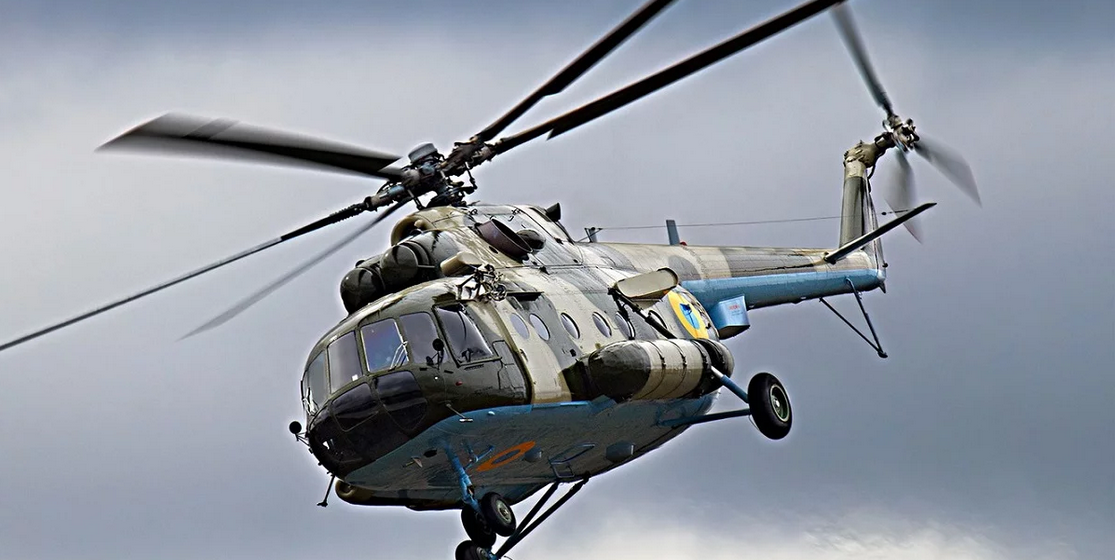 В Украине разбился военный вертолет, погибли четыре человека