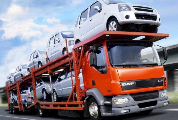 Перевозка автомобиля по России