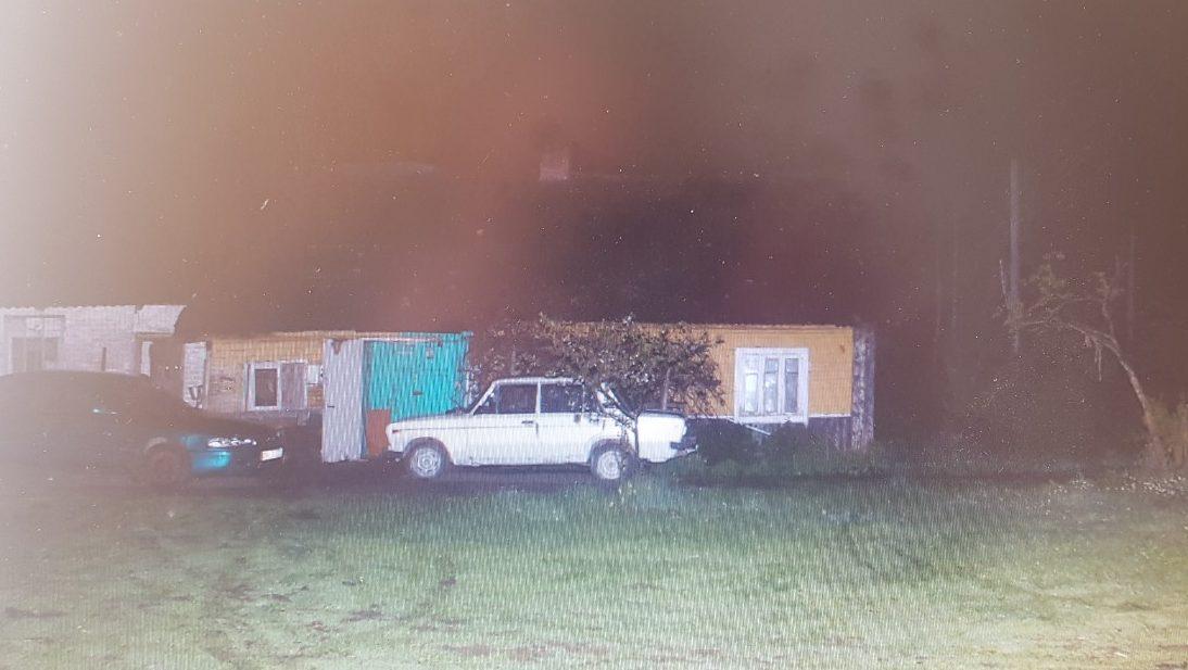 Место, где произошло преступление. Фото: УВД Гродненского облисполкома