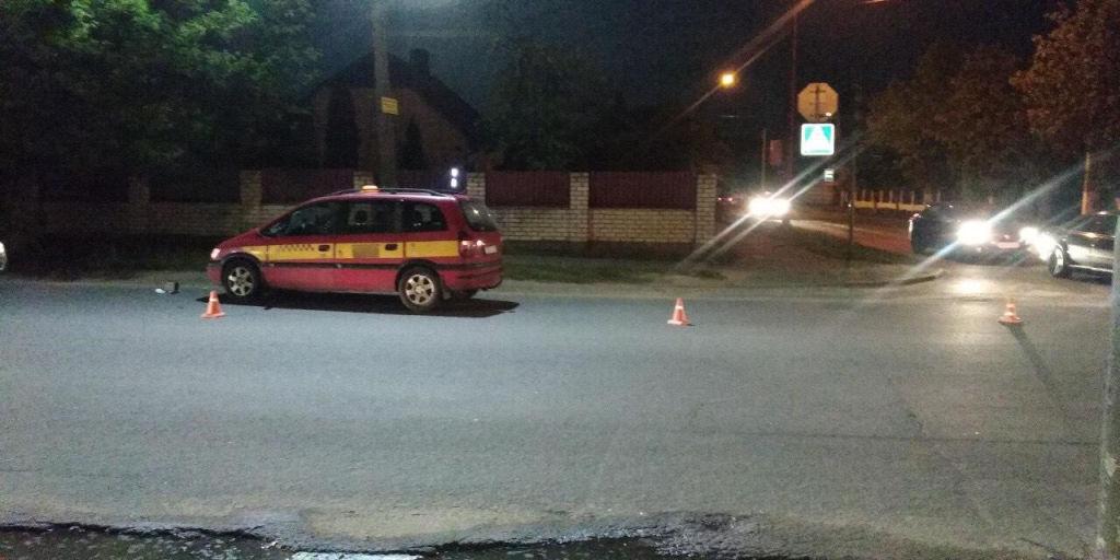 Таксист сбил 46-летнего мужчину на пешеходном переходе в Барановичах