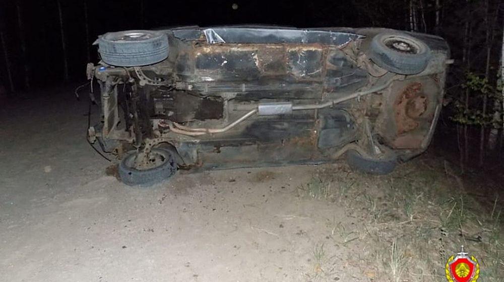 В Кличевском районе перевернулся BMW и придавил водителя, мужчина погиб