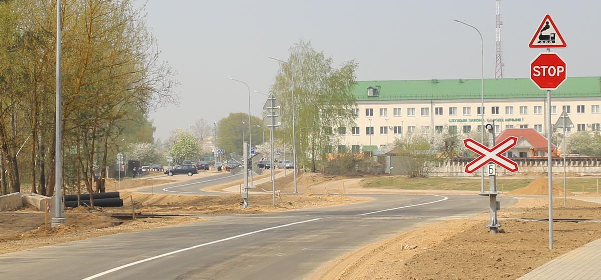 Открылась объездная дорога Восточный проезд в Барановичах. Как она выглядит