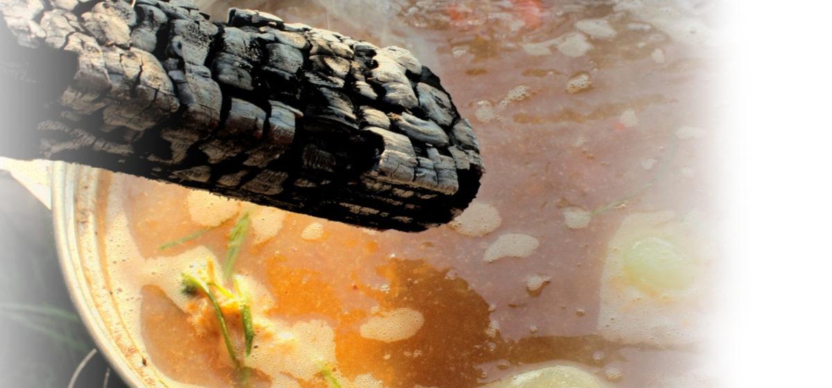 Приготовить УХУ из линя с водкой и поленом приглашают Миничи*