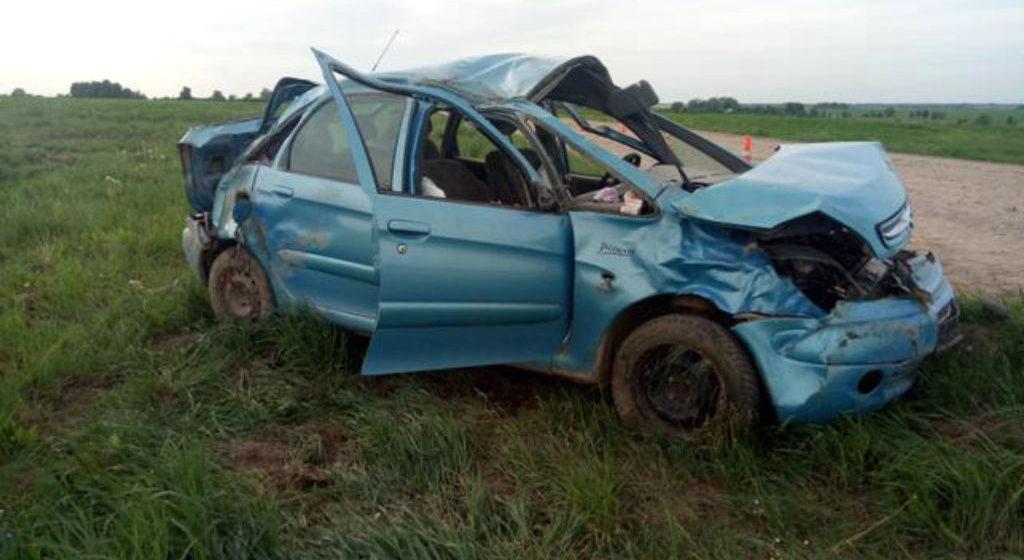 Легковушка вылетела в кювет и перевернулась в Слуцком районе, погиб водитель-бесправник