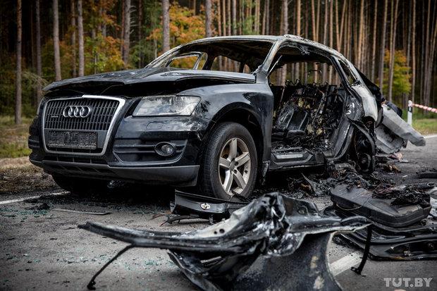 СК: Установлены лица, которые застрелили бизнесмена из Березино и сожгли его авто