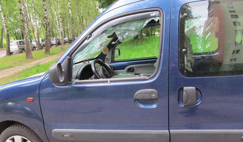 В Могилеве задержали мужчину, который повредил более 35 машин