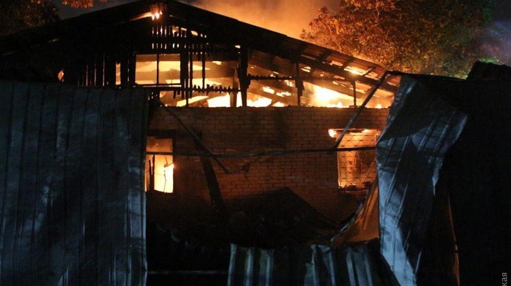 В Одессе сгорела психбольница – погибли шесть человек