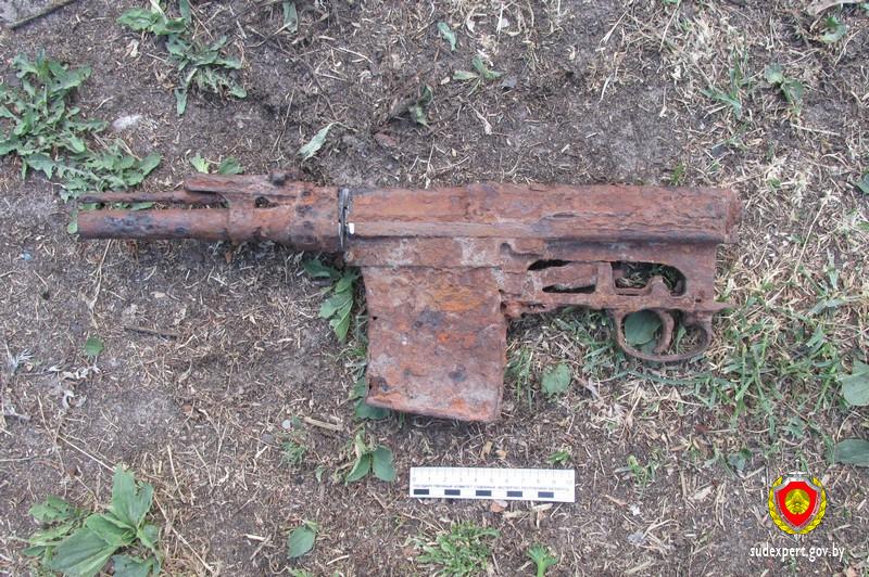 Под Светлогорском пенсионер нашел винтовку, стал ее пилить и прострелил себе ногу