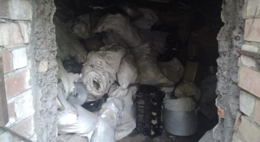Барановичские милиционеры изъяли у безработного более 2,5 т лома цветных металлов на сумму 6,5 тыс. рублей