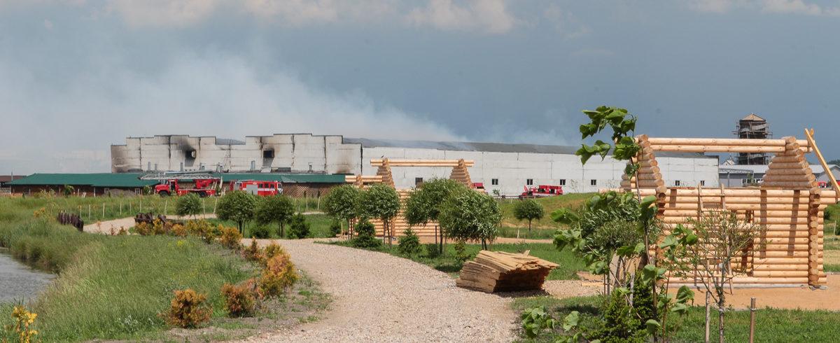 «Сегодня все на рабочих местах». Что происходит на барановичском «Дипризе», где произошел пожар. Фото, видео